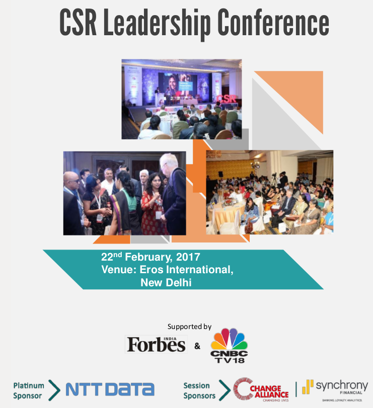 thumbnail of CSR Leadership Conference 2017 – New Delhi Event Report
