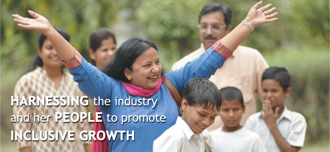 HARNESSING the industry and her PEOPLE to promote INCLUSIVE GROWTH