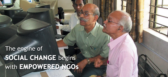 The engine of SOCIAL CHANGE begins with EMPOWERED NGOs