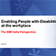 Enabling People with Disabilities at the workplace