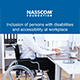 thumbnail of Inclusion of Persons with disabilities and accessibility at workplace