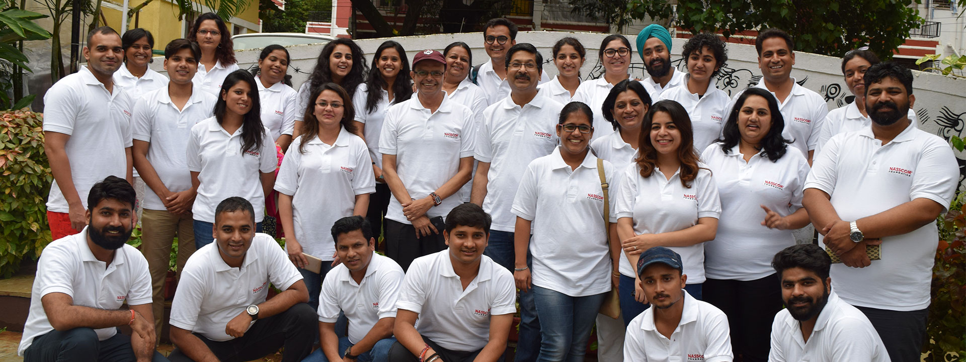 NASSCOM Foundation Team Picture