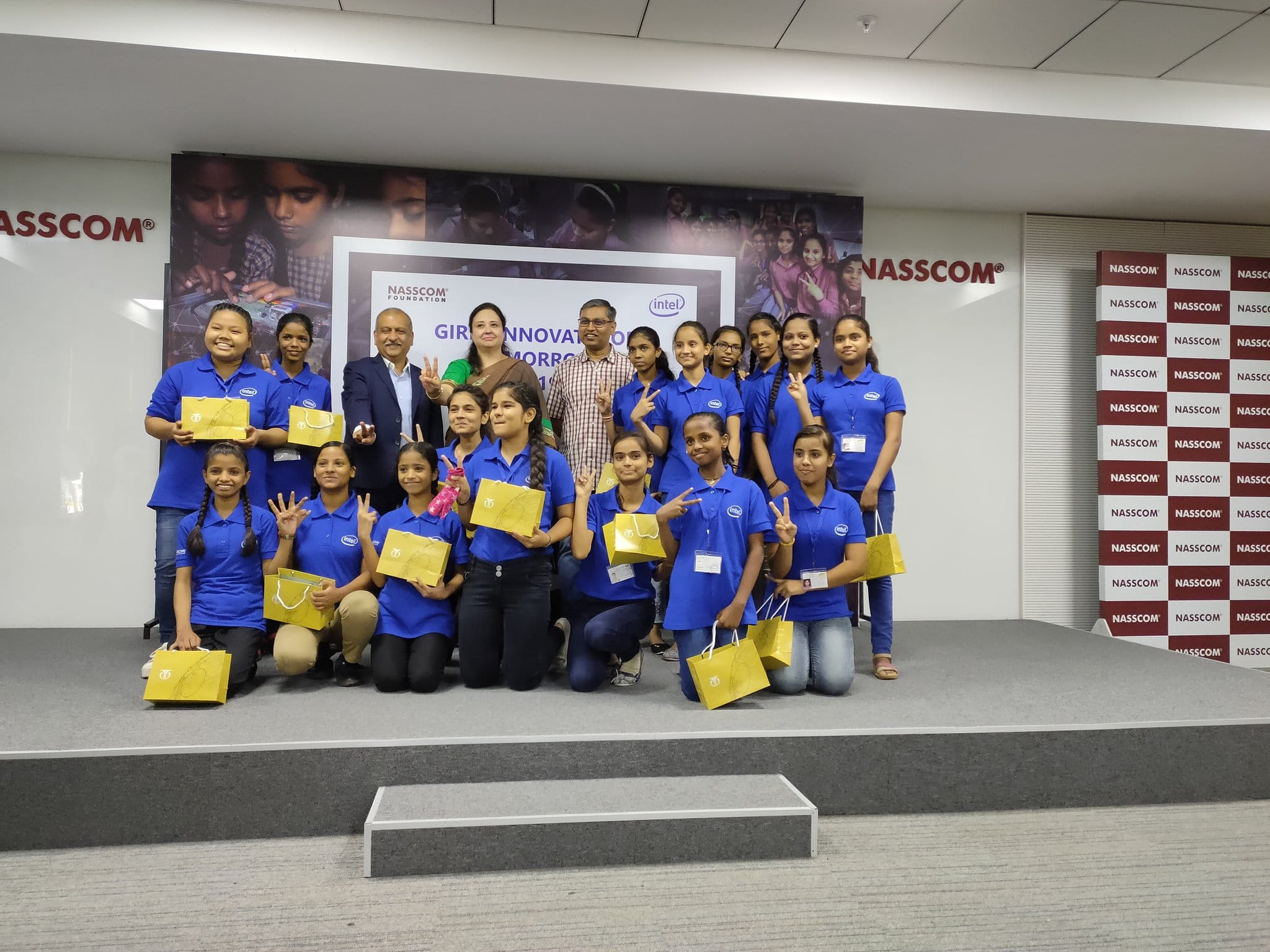 Intel and NASSCOM Foundation help 'Girls Innovate for Tomorrow'