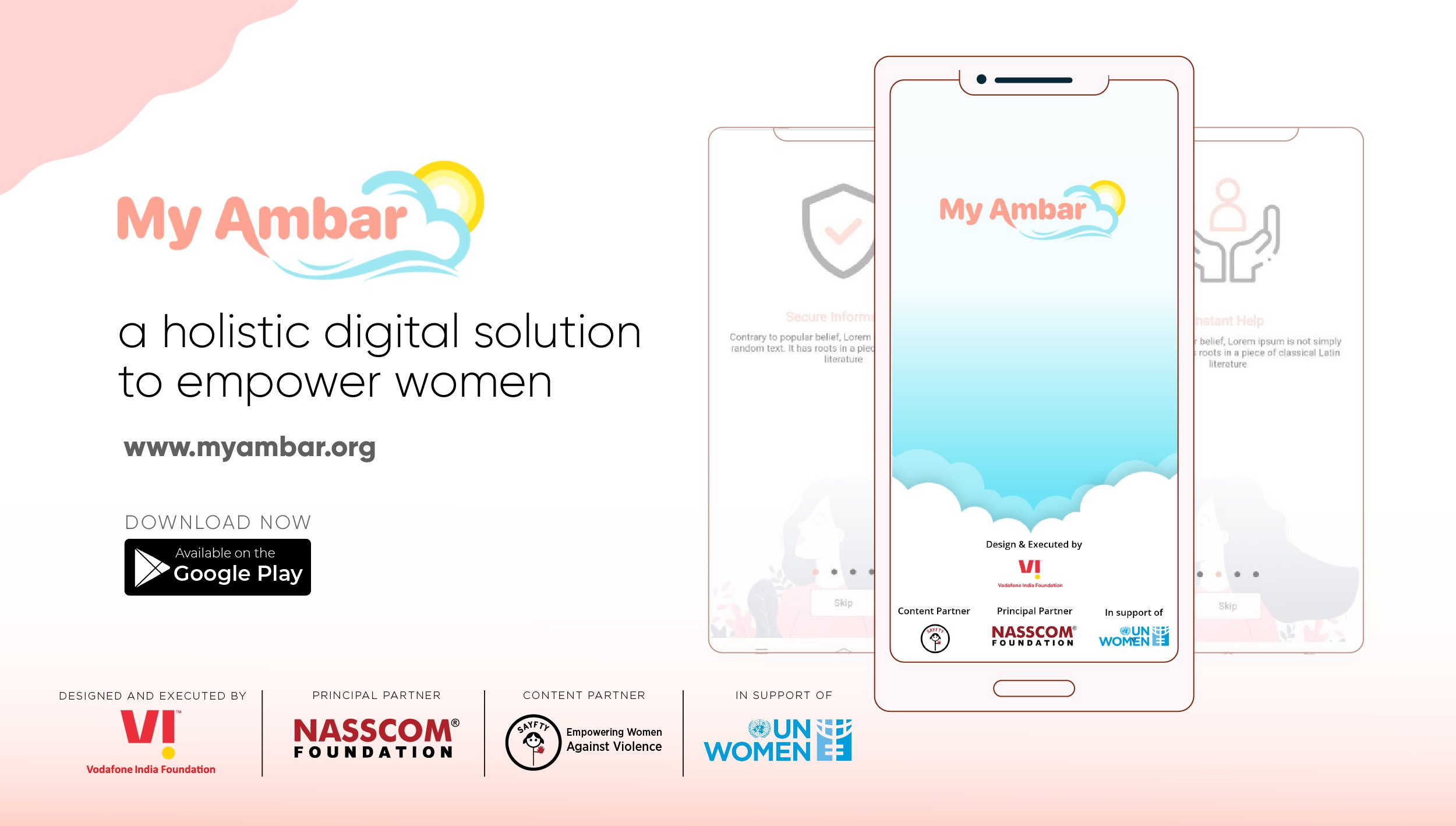 Vodafone Idea and NASSCOM Foundation Launch MyAmbar – An App-based solution for Women Safety in India